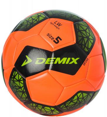 Мяч футбольный DemixОтличный мяч для игры на всех типах покрытий. Внимание: мячи доставляются в не накачанном виде. Рекомендуем приобрести насос и иглы для накачивания.<br>Сезон: 2017/2018; Возраст: Взрослые; Вид спорта: Футбол; Тип поверхности: Универсальные; Назначение: Любительские; Материал покрышки: Синтетическая кожа; Материал камеры: Резина; Способ соединения панелей: Машинная сшивка; Количество панелей: 32; Вес, кг: 0,42-0,445; Производитель: Demix; Артикул производителя: DF250; Срок гарантии: 2 месяца; Страна производства: Китай; Размер RU: 5;