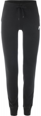 Брюки женские Nike SportswearЖенские брюки в спортивном стиле nike sportswear. Надежная фиксация пояс с утягивающим шнурком обеспечит надежную фиксацию модели на талии.<br>Пол: Женский; Возраст: Взрослые; Вид спорта: Спортивный стиль; Силуэт брюк: Зауженный; Материал верха: 52 % хлопок, 28 % вискоза, 20 % полиэстер; Производитель: Nike; Артикул производителя: 807364-010; Страна производства: Пакистан; Размер RU: 46;