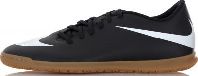 Бутсы мужские Nike BravataX II ICМужские футбольные бутсы для зала nike bravatax ii (ic) - это скорость и контроль мяча, необходимые во время игры.<br>Пол: Мужской; Возраст: Взрослые; Вид спорта: Футбол; Тип поверхности: Зал; Способ застегивания: Шнуровка; Материал верха: 100 % синтетическая кожа; Материал подкладки: 100 % текстиль; Материал подошвы: 100 % резина; Производитель: Nike; Артикул производителя: 844441-001; Страна производства: Вьетнам; Размер RU: 44;