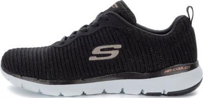 Кроссовки женские Skechers Flex Appeal 3.0-Endless Glamo, размер 37Кроссовки <br>Удобные кроссовки от skechers отлично завершат образ в спортивном стиле. Свобода движений гибкая подошва с глубокими канавками позволяет двигаться свободно и естественно.