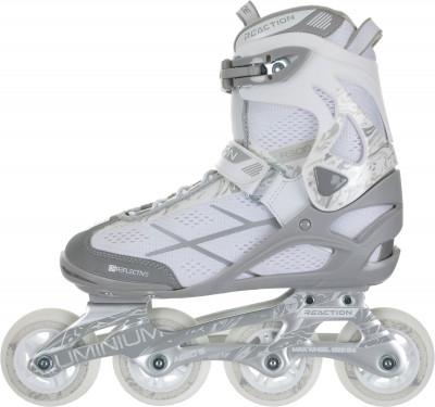 REACTION R300W 2019 80 mmРоликовые коньки<br>Удобная модель роликовых коньков, предназначенная для фитнес-катания. Модель рекомендуется широкому кругу любителей.
