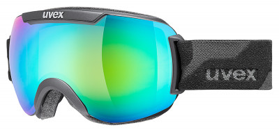Маска Uvex Downhill 2000Маска для катания на горных лыжах или сноуборде в солнечную погоду. Снег больше не налипает на маску, а просто соскальзывает с нее. Сделано в германии.<br>Сезон: 2016/2017; Пол: Мужской; Возраст: Взрослые; Вид спорта: Горные лыжи; Погодные условия: Солнце; Защита от УФ: Да; Цвет основной линзы: Зеленый; Поляризация: Нет; Вентиляция: Да; Покрытие анти-фог: Да; Совместимость со шлемом: Да; Сменная линза: Опционально; Материал линзы: Поликарбонат; Материал оправы: Полиуретан; Конструкция линзы: Двойная; Форма линзы: Сферическая; Возможность замены линзы: Есть; Производитель: Uvex; Технологии: 100% UVA- UVB- UVC-PROTECTION, Supravision; Артикул производителя: S5501152326; Срок гарантии: 2 года; Страна производства: Германия; Размер RU: Без размера;