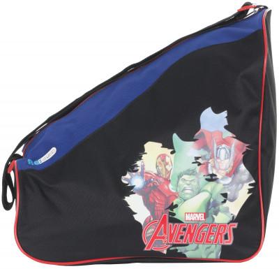 Сумка для роликов детская REACTIONУдобная и практичная сумка для хранения и переноски роликовых коньков для мальчиков disney marvel.<br>Размеры (дл х шир х выс), см: 36 x 26 x 33; Материал верха: 100 % полиэстер; Материал подкладки: 100 % полиэстер; Вид спорта: Роликовые коньки; Производитель: REACTION; Артикул производителя: S17RERA5BM; Страна производства: Китай; Размер RU: Без размера;