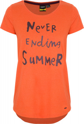 Футболка женская Termit, размер 52Skate Style<br>Удобная футболка termit - идеальный выбор для жарких летних дней. Свобода движений прямой крой позволяет двигаться свободно.