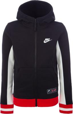 Джемпер для мальчиков Nike Air, размер 147-158Джемперы<br>Для твоего необычного образа - джемпер в спортивном стиле от nike. Натуральные материалы натуральный хлопок делает ткань мягкой и воздухопроницаемой.