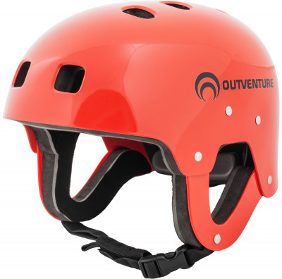 Шлем сплавной OutventureУниверсальный удобный и легкий шлем для водного туризма. Оболочка из полиэтилена высокой плотности, внутренний материал эва, закрытые уши.<br>Пол: Мужской; Возраст: Взрослые; Вид спорта: Водный спорт; Материалы: 100 % пластик АБС; Производитель: Outventure; Артикул производителя: IE6611R2L; Срок гарантии: 2 года; Страна производства: Китай; Размер RU: 56-63;