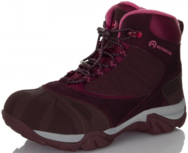 Ботинки утепленные для девочек Outventure Crater III бордовый цвет - купить  за 1849 руб. в интернет-магазине Спортмастер 253aee07f63