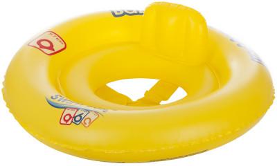 Круг BestwayДетский надувной круг обеспечит безопасность и удовольствие во время купания. В модели предусмотрена х-образная поддержка и надувная спинка.<br>Состав: Поливинилхлорид; Размеры (дл х шир х выс), см: 69; Вес, кг: 0,35; Вид спорта: Кемпинг; Производитель: Bestway; Артикул производителя: BW32027; Срок гарантии: 1 год; Страна производства: Китай; Размер RU: Без размера;