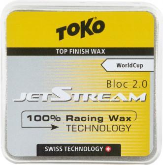 Порошок фторуглеродный для беговых лыж TOKO JetStream Bloc 2.0 yellow