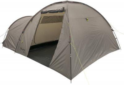 Outventure Lodge 5Просторная кемпинговая палатка с большим тамбуром.<br>Назначение: Кемпинговые; Количество мест: 5; Наличие внутренней палатки: Да; Тип каркаса: Внешний; Геометрия: Нестандартная; Водонепроницаемость: Высокая; Ветроустойчивость: Низкая; Вес, кг: 14; Размер в собранном виде (д х ш х в): 530 х 320 х 200 см; Размер в сложенном виде (дл. х шир. х выс), см: 64 х 25 х 27; Размер тамбура (д х ш х в): 300 х 320 х 200 см; Количество комнат: 1; Количество входов: 2; Вентиляционные окна: Да; Количество вентиляционных окон: 2; Диаметр дуг: 12,5 мм, 11 мм; Внешний тент: Да; Усиленные углы: Да; Количество оттяжек: 7; Навес: Да; Крепление для фонаря: Да; Водонепроницаемость тента: 2000 мм в.ст.; Водонепроницаемость дна: 10 000 мм в.ст.; Проклеенные швы: Да; Противомоскитная сетка: Да; Ветрозащитная юбка: Да; Материал тента: Полиэстер; Материал внутренней палатки: Полиэстер; Материал дна: Армированный полиэтилен; Материал каркаса: Фибергласс; Материал колышков: Сталь; Вид спорта: Кемпинг; Производитель: Outventure; Артикул производителя: EOUOT007T1; Срок гарантии: 2 года; Страна производства: Бангладеш; Размер RU: Без размера;