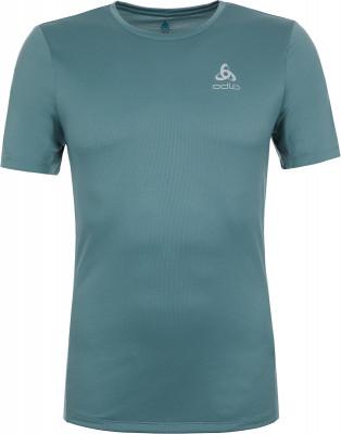 Футболка мужская Odlo Element, размер 52-54Мужская одежда<br>Технологичная футболка от odlo - оптимальный выбор для занятий бегом. Отведение влаги ткань эффективно отводит влагу от кожи.