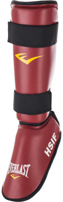 Защита голени и стопы EverlastЗащита ног для рукопашного боя. Защита от травм прочный защитный слой обеспечивает комфорт и надежную защиту от травм и ушибов.<br>Материал верха: Полиуретан; Материал подкладки: Пенонаполнитель; Материал наполнителя: Нейлон; Тип фиксации: Липучка; Вид спорта: MMA; Производитель: Everlast; Артикул производителя: RF7150M; Срок гарантии: 15 дней; Размер RU: Без размера;