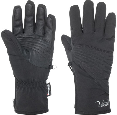 Перчатки женские VolklЖенские технологичные перчатки для катания на горных лыжах.<br>Пол: Женский; Возраст: Взрослые; Вид спорта: Горные лыжи; Водонепроницаемость: 10000 мм; Паропроницаемость: 10 000 г/м2/24 ч; Технологии: Sensortex XT, Thinsulate; Производитель: Volkl; Артикул производителя: V6WEG19975; Страна производства: Китай; Материал верха: 100 % полиэстер; Материал подкладки: 100 % полиэстер; Материал утеплителя: 100 % полиэстер; Размер RU: 7,5;