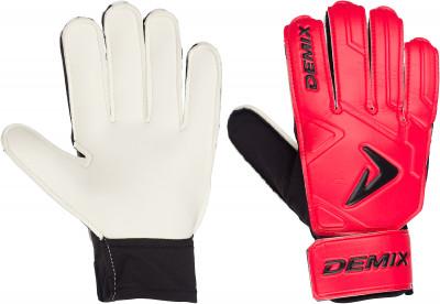 Перчатки вратарские детские Demix, размер 7Перчатки<br>Детские вратарские перчатки. Ладонь из латекса supersoft обеспечивает хорошее сцепление с мячом.
