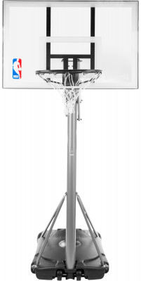 Баскетбольная стойка Spalding Silver 44 Rechtangle AcrylicБаскетбольная мобильная стойка с системой телескопического подъема и опускания щита и регулировкой высоты кольца 2, 28-3, 05 м.<br>Состав: Акрил, пластмасса, сталь, текстиль; Вид спорта: Баскетбол; Производитель: Spalding; Артикул производителя: 59484CN; Срок гарантии: 6 месяцев; Страна производства: Китай; Размер RU: Без размера;