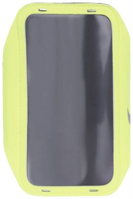 Чехол на руку для смартфона NikeЧехол для смартфона nike крепится на руку и позволяет оставаться на связи во время пробежки.<br>Пол: Мужской; Возраст: Взрослые; Вид спорта: Бег; Материалы: 25 % полиэстер, 13 % нейлон, 13 % сплав алюминия, 11 % термопластик полиуретан, 8 % неопрен; Производитель: Nike; Артикул производителя: N.RN.65-719; Страна производства: Китай; Размер RU: Без размера;