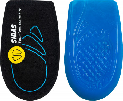 Подпяточники Sidas Cushioning gelСтельки<br>Практичная и комфортная стелька cushioning gel memory от sidas. Амортизация технология dynamic gel гарантирует превосходную амортизацию.
