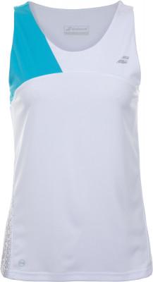 Футболка без рукавов женская Babolat Perf Tank Top, размер 44-46Футболки<br>Удобная теннисная футболка от babolat - идеальный выбор для тренировок в жаркую погоду. Комфорт плоские швы не натирают кожу.
