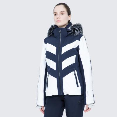 Фото 5 - Куртку женская Luhta Jalonoja, размер 42 белого цвета