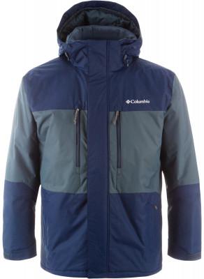 Куртка утепленная мужская Columbia Balfour PassМужская утепленная куртка для активного отдыха и походов от columbia. Защита от влаги водоотталкивающее покрытие omni-shield защищает изделие от воды и снега.<br>Пол: Мужской; Возраст: Взрослые; Вид спорта: Походы; Вес утеплителя на м2: 150 г/м2; Наличие мембраны: Нет; Возможность упаковки в карман: Нет; Регулируемые манжеты: Да; Длина по спинке: 76 см; Покрой: Прямой; Светоотражающие элементы: Нет; Дополнительная вентиляция: Нет; Проклеенные швы: Нет; Длина куртки: Средняя; Наличие карманов: Да; Капюшон: Отстегивается; Мех: Отсутствует; Количество карманов: 4; Водонепроницаемые молнии: Нет; Застежка: Молния; Технологии: Omni-Shield, Thermal Coil; Производитель: Columbia; Артикул производителя: 1736891435XL; Страна производства: Вьетнам; Материал верха: 100 % нейлон; Материал подкладки: 100 % нейлон; Материал утеплителя: 100 % полиэстер; Размер RU: 52-54;