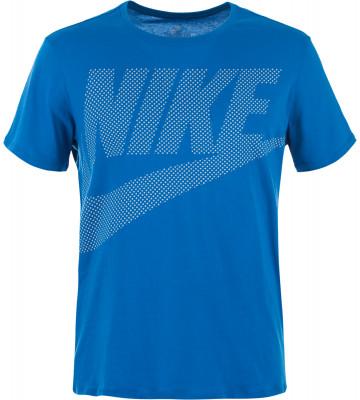 Футболка мужская Nike SportswearУдобная классическая футболка от nike - оптимальное завершение твоего спортивного образа.<br>Пол: Мужской; Возраст: Взрослые; Вид спорта: Спортивный стиль; Покрой: Прямой; Материалы: 100 % хлопок; Производитель: Nike; Артикул производителя: 891865-465; Страна производства: Турция; Размер RU: 52-54;