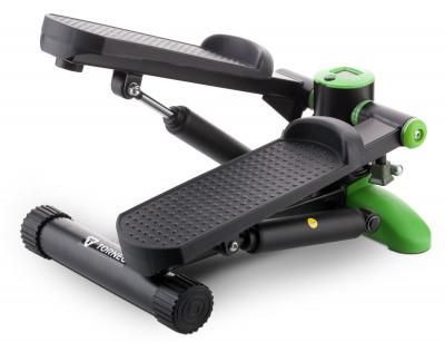 Министеппер Torneo RitmoКомпактный домашний кардиотренажер имитатор ходьбы по лестницам. Наилучший вариант для проработки мышц бедра, икроножных и ягодичных мышц.<br>Тип степпера: Классический; Система нагружения: Гидравлическая; Питание тренажера: Батарейки; Максимальный вес пользователя: 100 кг; Время тренировки: Есть; Ритм, шаг/мин: Есть; Количество шагов за тренировку: Есть; Количество шагов за предыдущие тренировки: Есть; Израсходованные калории: Есть; Педали: Взаимозависимый ход; Размеры (дл х шир х выс), см: 44 х 30 х 30; Вес, кг: 6,6; Вид спорта: Кардиотренировки; Технологии: EverProof, Ready-to-Fit; Производитель: Torneo; Артикул производителя: S-112B; Срок гарантии: 2 года; Страна производства: Китай; Размер RU: Без размера;