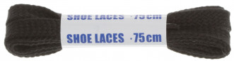 Шнурки черные плоские Woly Sport, 75 см