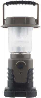 Фонарь OutventureКемпинговый фонарь с пластиковым корпусом и мощностью 120 люмен от outventure. В модели предусмотрено 3 режима работы.<br>Вес, кг: 0,21; Размеры (дл х шир х выс), см: 7 х 7 х 15; Производитель: Outventure; Вид спорта: Кемпинг, Походы; Артикул производителя: E013T1; Страна производства: Китай; Размер RU: Без размера;