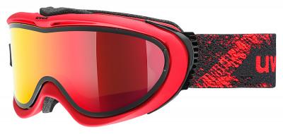 Маска Uvex Comanche TOМаска для катания на горных лыжах от uvex. Модель рассчитана на солнечную погоду.<br>Сезон: 2017/2018; Пол: Мужской; Возраст: Взрослые; Вид спорта: Горные лыжи; Погодные условия: Солнце; Защита от УФ: Да; Цвет основной линзы: Красный; Поляризация: Нет; Вентиляция: Да; Покрытие анти-фог: Да; Совместимость со шлемом: Да; Сменная линза: Опционально; Материал линзы: Поликарбонат; Материал оправы: Полиуретан; Конструкция линзы: Двойная; Форма линзы: Цилиндрическая; Возможность замены линзы: Есть; Производитель: Uvex; Технологии: Supravision, Take Off; Артикул производителя: 1209; Срок гарантии: 2 года; Страна производства: Германия; Размер RU: Без размера;