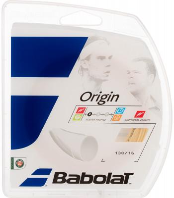 Струна Babolat Origin 12 MСтруна с моноволоконной структурой, которая обеспечивает мощность и комфорт. На 100% состоит из полиамида.<br>Вид спорта: Большой теннис; Производитель: Babolat; Артикул производителя: 241126-128; Страна производства: Франция; Размер RU: Без размера;