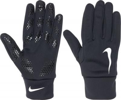 Перчатки игрока Nike HyperwarmПерчатки для американского футбола nike hyperwarm field player позволят взять игру в свои руки.<br>Пол: Мужской; Возраст: Взрослые; Вид спорта: Футбол; Технологии: Nike Dri-FIT; Производитель: Nike; Артикул производителя: GS0321-013; Срок гарантии: 30 дней; Страна производства: Китай; Размер RU: 9;