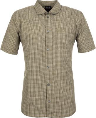 Рубашка мужская JACK WOLFSKIN El Dorado, размер 58Рубашки<br>Рубашка jack wolfskin станет отличным выбором для активного отдыха на природе. Отведение влаги материал с технологией quick moisture control отводит влагу от тела.