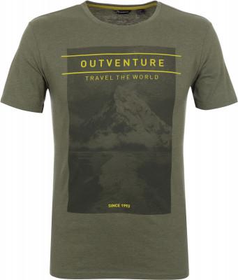 Футболка мужская Outventure, размер 54Футболки<br>Практичная мужская футболка от outventure - то что нужно в походе. Свобода движений продуманный крой обеспечивает удобство и свободу движений.