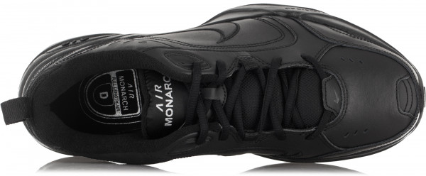 Кроссовки мужские Nike Air Monarch IV черный цвет - купить за 3999 руб. в  интернет-магазине Спортмастер f1f69d1a6ce