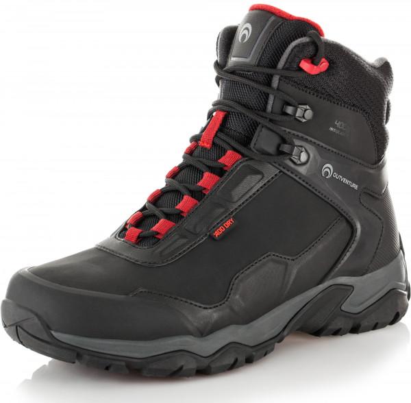 2810f9560 Ботинки утепленные мужские Outventure Snowpike чёрный цвет — купить за 5599  руб. в интернет-магазине Спортмастер