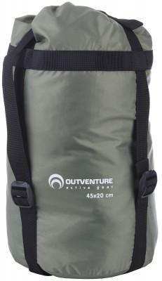 Компрессионный мешок Outventure, 14 лКомпрессионный мешок для упаковки спального мешка и мягких вещей. Утягивается стропами, экономит место в рюкзаке. Объ м: 14 литров.<br>Материалы: 100 % полиэстер; Размеры (дл х шир х выс), см: 45 х 20 х 20; Размер (Д х Ш), см: 45 х 20; Вес, кг: 0,1; Объем: 14 л; Вид спорта: Кемпинг, Походы; Производитель: Outventure; Артикул производителя: S047G4; Страна производства: Китай; Размер RU: Без размера;