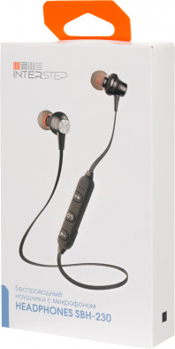 Беспроводные наушники Interstep SBH-230