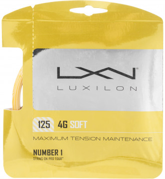 Струна Wilson Luxilon 4G Soft 125 SET