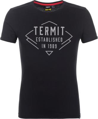 Футболка мужская Termit, размер 44Skate Style<br>Отличный выбор для активного отдыха в городе - футболка termit. Натуральные материалы ткань выполнена из натурального хлопка.