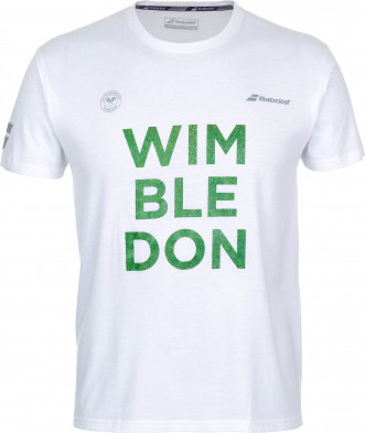 Футболка мужская Babolat Wimbledon Core Cotton Tee
