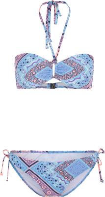 Бикини женское ONeill Pw Pulca Cruz Print, размер 40Surf Style <br>Купальник-бандо с геометрическим принтом - отличный выбор для яркого пляжного образа. Быстрое высыхание технология hyperdry гарантирует быстрое высыхание купальника.