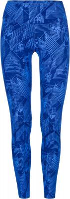 Легинсы женские Demix, размер 42Брюки <br>Удобные легинсы для фитнес-тренировок от demix. Комфорт плоские швы не натирают кожу во время занятий спортом. Плотная посадка облегающий крой обеспечивает плотную посадку.