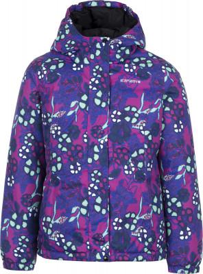 Куртка утепленная для девочек IcePeak RenaТеплая куртка icepeak rena придется по душе юным путешественницам. Водонепроницаемость мембрана icemax 5000 2000 надежно защищает от осадков.<br>Пол: Женский; Возраст: Дети; Вид спорта: Путешествие; Вес утеплителя на м2: 250 г/м2; Наличие чехла: Нет; Возможность упаковки в карман: Нет; Длина по спинке: 60 см; Водонепроницаемость: 5000 мм; Паропроницаемость: 2000 г/м2/24 ч; Покрой: Приталенный; Дополнительная вентиляция: Нет; Проклеенные швы: Нет; Капюшон: Не отстегивается; Мех: Отсутствует; Количество карманов: 2; Водонепроницаемые молнии: Нет; Технологии: Children's safety, Icemax 5000/2000, Reflectors; Производитель: IcePeak; Артикул производителя: 50126836XV; Страна производства: Китай; Материал верха: 100 % полиэстер; Размер RU: 128;
