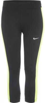 Бриджи женские NikeЖенские бриджи nike essential длиной ниже колена - это отличный вариант для занятий бегом. Отведение влаги технология nike dri-fit гарантирует эффективный влагоотвод.<br>Пол: Женский; Возраст: Взрослые; Вид спорта: Бег; Силуэт брюк: Зауженный; Светоотражающие элементы: Есть; Технологии: Nike Dri-FIT; Производитель: Nike; Артикул производителя: 645603-011; Страна производства: Вьетнам; Материал верха: 92 % полиэстер, 8 % эластан; Размер RU: 40-42;