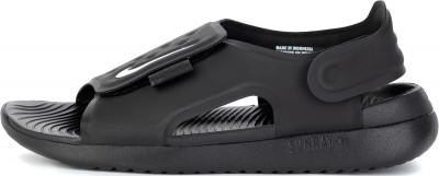 Сандалии детские Nike Sunray Adjust 5, размер 37,5Сандалии <br>Сандалии nike sunray adjust 5 выручают в жаркую погоду легкость гибкий пеноматериал гасит ударные нагрузки.