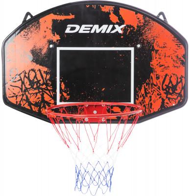 Щит баскетбольный DemixБаскетбольный щит demix для игры в зале и на улице. Баскетбольный щит: 90 х 60 см. Баскетбольное стальное кольцо диаметром 45 см спортивные достижения начинаются с малого.<br>Размеры (дл х шир х выс), см: 90 x 60 см; Размер упаковки: 90 х 60 x 5 см; Вес, кг: 2,5; Состав: Полипропилен, сталь, нейлон; Вид спорта: Баскетбол; Производитель: Demix; Артикул производителя: D-BRD90B10; Срок гарантии: 1 год; Страна производства: Китай; Размер RU: Без размера;