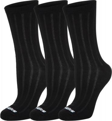 Носки для мальчиков Skechers, 3 парыМягкие детские носки прекрасно подойдут для занятий спортом и активного отдыха.<br>Пол: Мужской; Возраст: Дети; Вид спорта: Тренинг; Плоские швы: Да; Светоотражающие элементы: Нет; Дополнительная вентиляция: Да; Компрессионный эффект: Нет; Производитель: Skechers; Артикул производителя: S107852X; Страна производства: Китай; Материалы: 68 % хлопок, 30 % полиэстер, 2 % спандекс; Размер RU: 24-35;