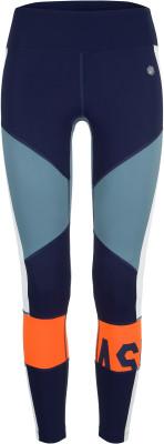 Легинсы женские ASICS Color Block Cropped 2, размер 42-44Брюки <br>Женские легинсы asics незаменимы для регулярных беговых тренировок на улице и в спортзале. Отведение влаги легкая быстросохнущая ткань отлично отводит влагу от тела.