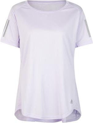 Футболка женская Adidas Own the Run, Plus Size, размер 60-62
