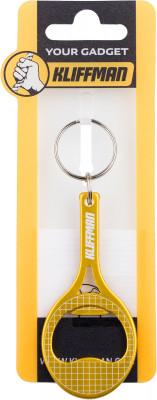 Брелок KLIFFMAN РакеткаБрелоки<br>Брелок-открывашка в форме теннисной ракетки от kliffman. Качественное исполнение из сплава алюминия. Брелок станет приятным сюрпризом для поклонников тенниса.